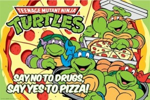 cartoon-teenage-mutant-ninja-turtles-yes-pizza-poster-AQU24894