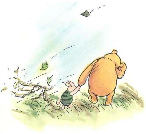 winnie the pooh and piglet classic